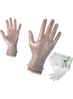 Ръкавици винил еднократна употреба От Катрин Макс ООД