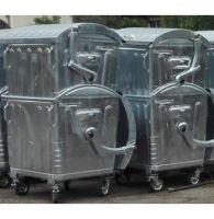 Метален контейнер 1100 л - Бобър горещопоцинкован От Катрин Макс ООД
