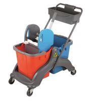 Хигиенна количка за почистване с две кофи и преса От Катрин Макс ООД
